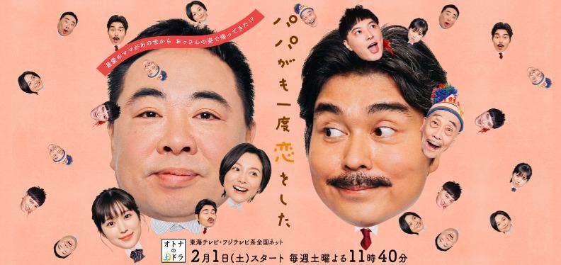 ドラマ「パパがも一度恋をした」の動画(1話~8話<最終回>)情報