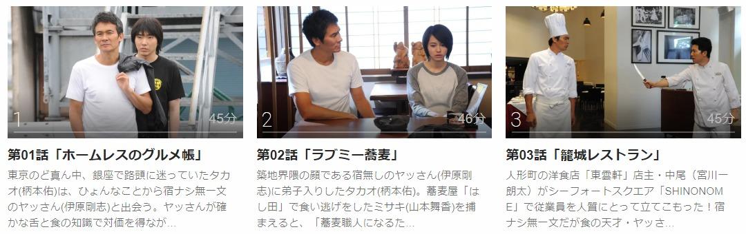 「ヤッさん〜築地発!おいしい事件簿〜」のドラマ動画(1話~6話<最終回>)