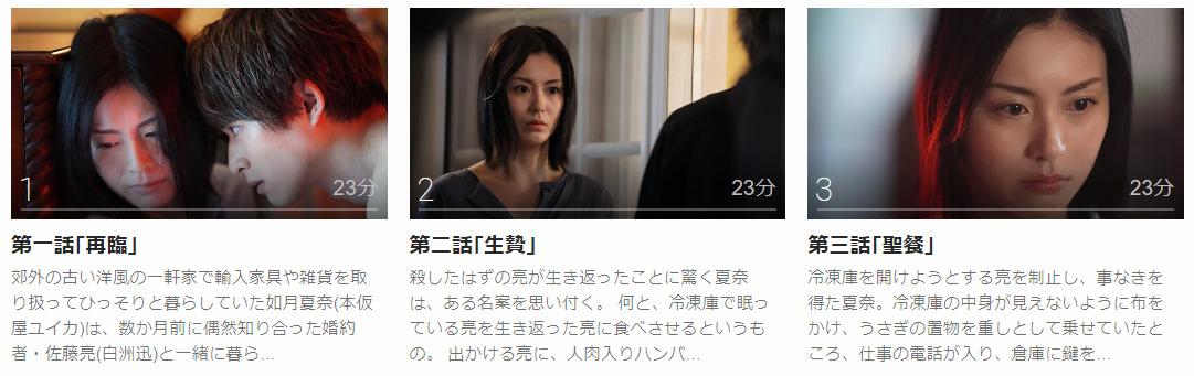 「私の夫は冷凍庫に眠っている」のドラマ動画(1話~)