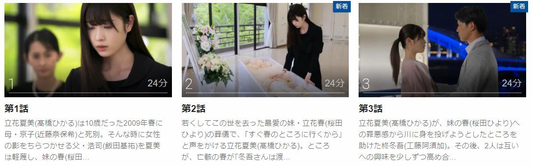 「春の呪い」のドラマ動画(1話~)