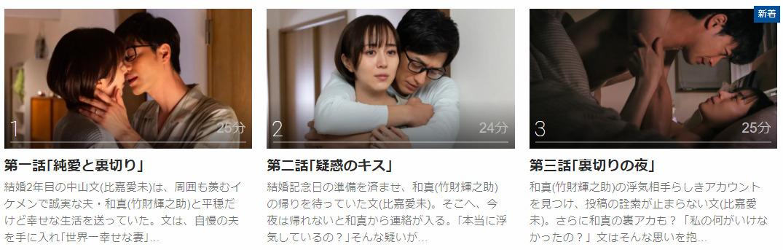 「にぶんのいち夫婦」のドラマ動画(1話~8話<最終回>)