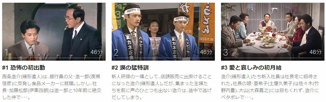 「ボクの就職」のドラマ動画(1話~12話<最終回>)