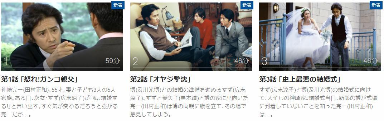 「オヤジぃ。」のドラマ動画(1話~11話<最終回>)