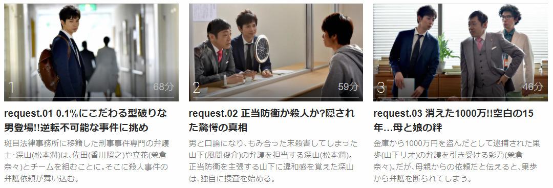 「99.9-刑事専門弁護士-シーズン1」のドラマ動画(1話~10話<最終回>)